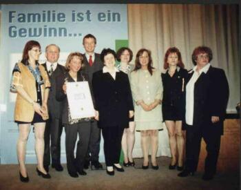 Kaminek Frauenfreundlichster Betrieb 1999